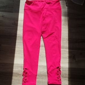 Yogalicious hot pink leggings